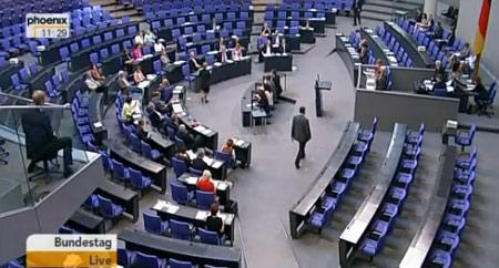 Bundestag live am 03.07.2009