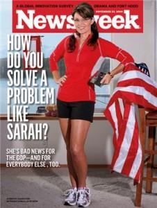 sarah palin newsweek